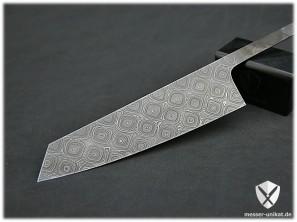 Damastmesser, Kochmesser, handgeschmiedete Messer